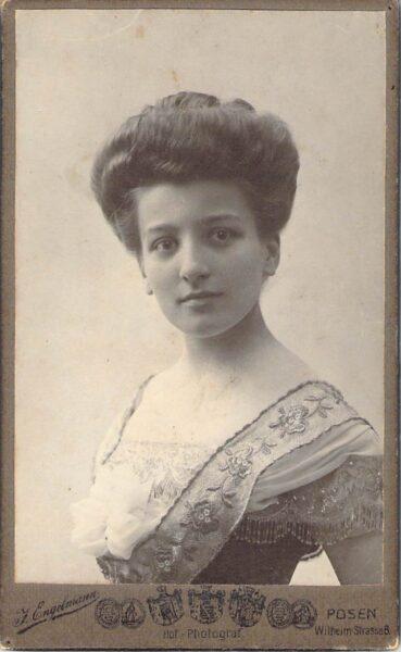 Ppor. Emilia Chłapowska, fot. Archiwum Rodziny Chłapowskich