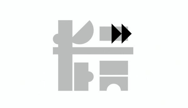 Logo z klocków, fot. kadr z prezentacji