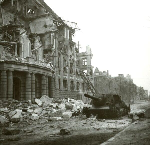 Poznań rok 1945, fot. Instytut Pamięci Narodowej