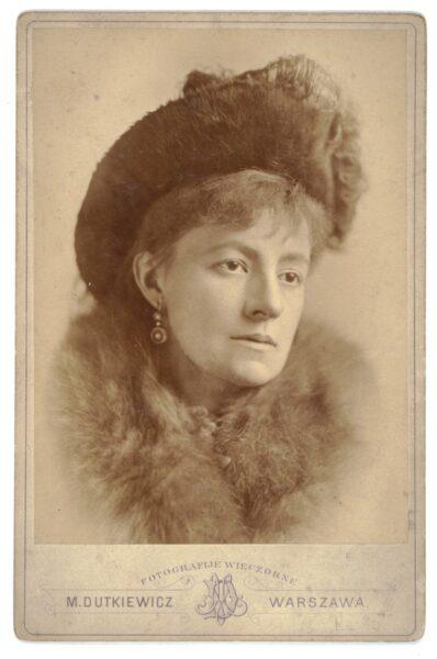 Helena Modrzejewska, fotografował Melecjusz Dutkiewicz ok. 1879, fot. Biblioteka Narodowa w Warszawie