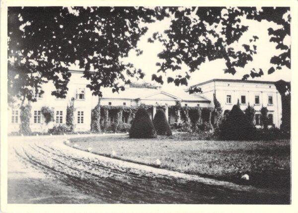 Pałac w Żegocinie przed 1939 r., fot. Rodzina Chłapowskich
