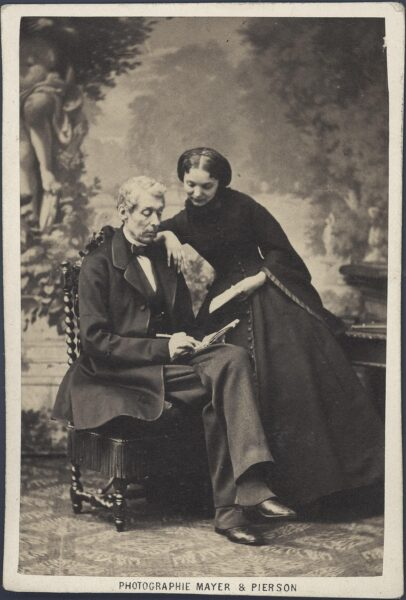 Władysław (ojciec) i Jadwiga Zamoyscy, fot. Cyfrowe Muzeum Zamoyskich w Kozłówce