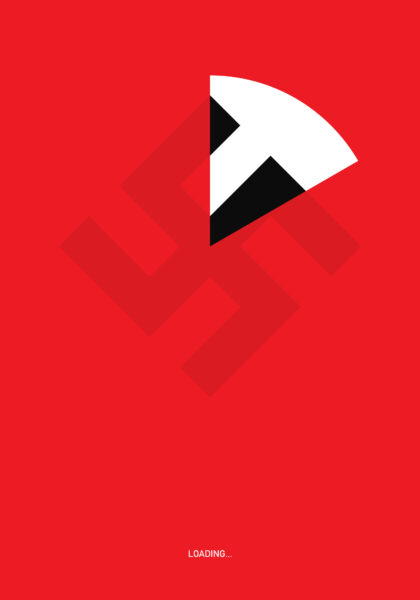 Loading, plakat Szymona Szymankiewicza
