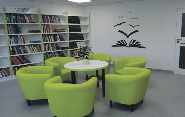 Wyremontowane pomieszczenie w Gminnym Centrum Kultury w Dobrzycy, fot. Wojciech Maniak