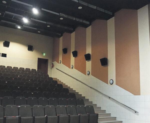 Sala kinowo-teatralna Złotowskiego Domu Kultury, fot. Emilia Pietrzak