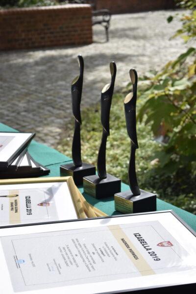 Uroczystość wręczenia statuetek Izabella w Szreniawie, 7 września 2021 r.