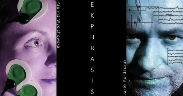 Plakat spektaklu Ekphrasis