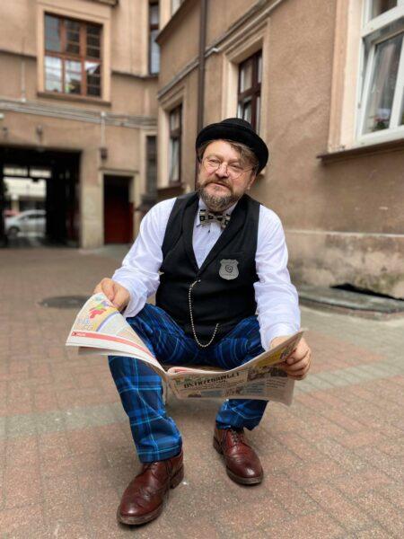 Muzealny Detektyw na podwórkach, kadr z videofelietonu, fot. J. Dzionek