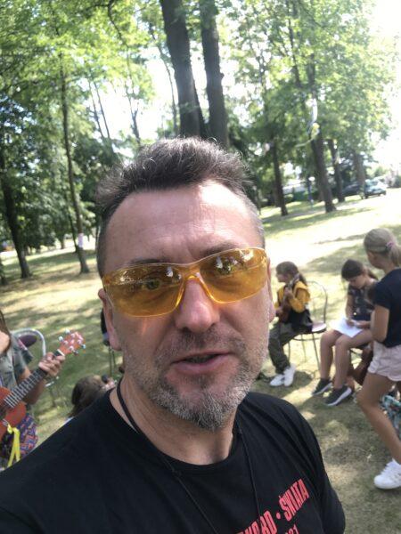 """Przemysław Śledź, fot. z archiwum projektu realizowanego w ramach programu """"Kultura w drodze"""""""