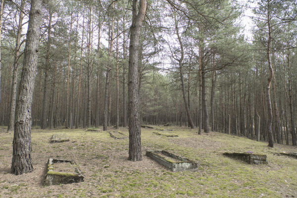 Cmentarz Ewangelicki w miejscowości Piłka, fot. K. Figas