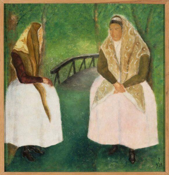 Obraz Jana Spychalskiego - Bamberki, fot. Muzeum Narodowe w Warszawie