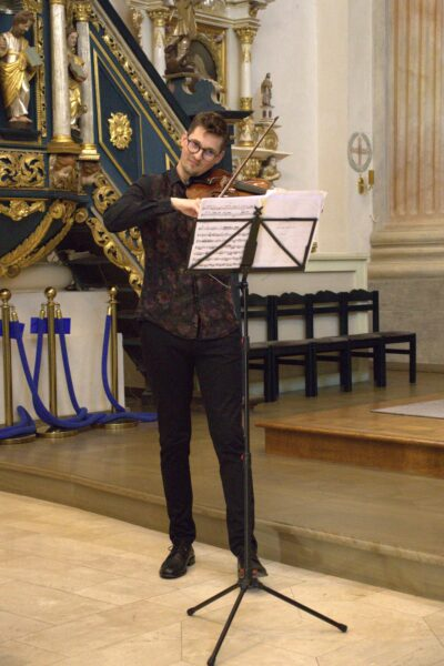 Jan Lewandowski i Tomasz Rosiński z Polish Solists Trio, fot. z archiwum redakcji