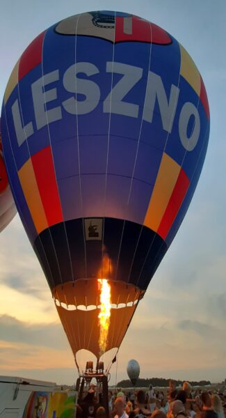 Balon Leszno, fot. M. Gołembka