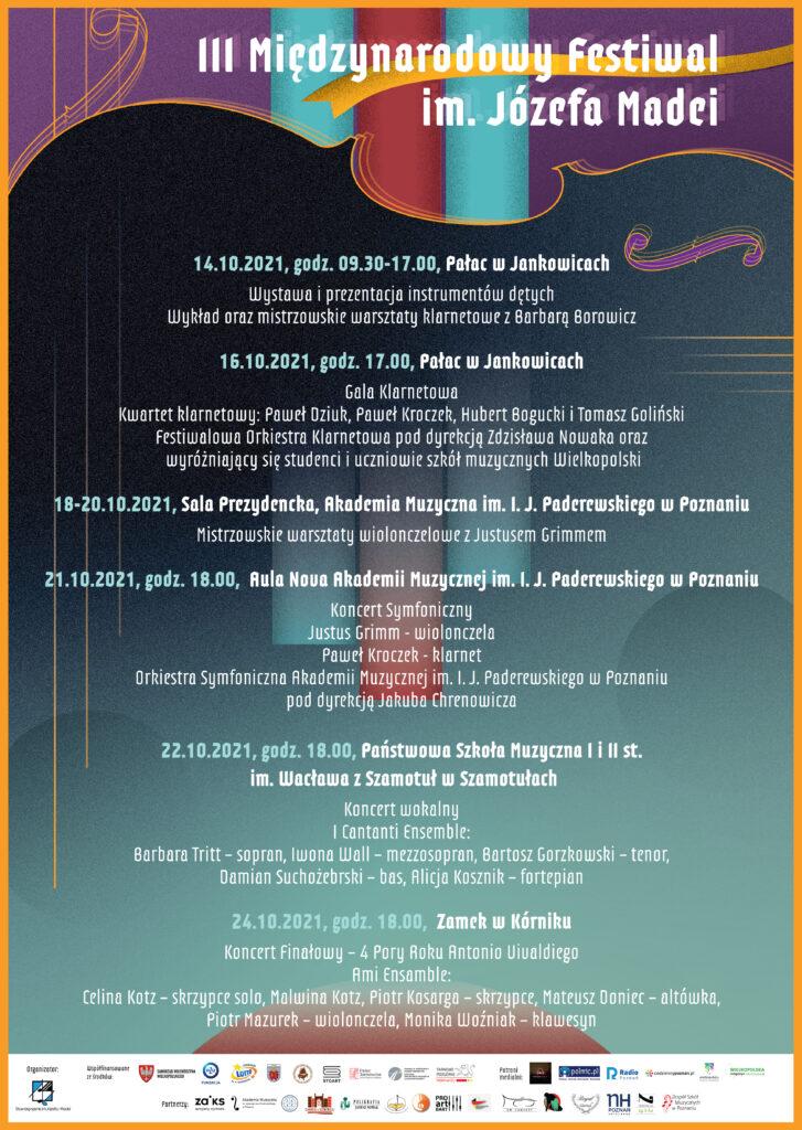 Festiwal Madei, plakat