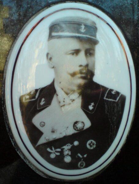Józef Radwan - porcelanka z grobowca. Zbiory Macieja Błachowicza