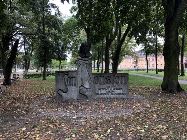 Pomnik Jana Jonstona, fot. M. Dachtera