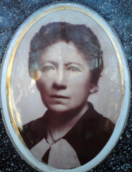 Porcelanowy portret Zofii Hieropolitańskiej - założycielki Muzeum Ziemi Kaliskiej. Zbiory prywatne