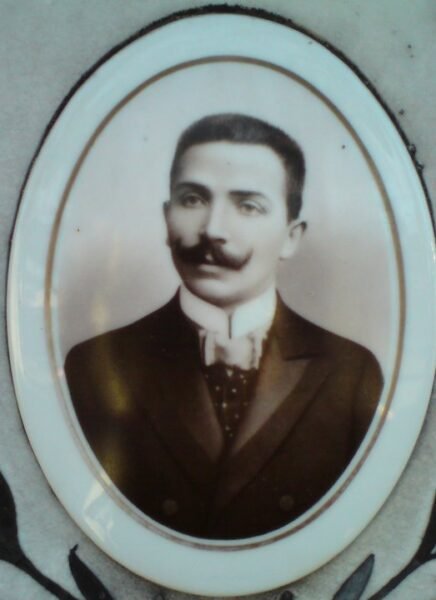 Portret Wacława Staszewskiego. Zbiory prywatne Macieja Błachowicza